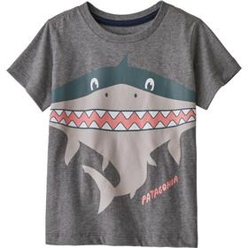 Patagonia Graphic Organic T-Shirt Kinderen, grijs